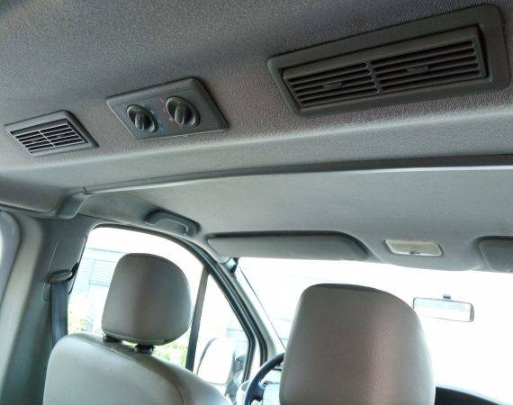 Opel Vivaro ventilacija