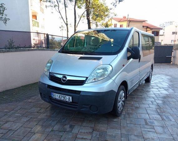 Opel Vivaro transferi